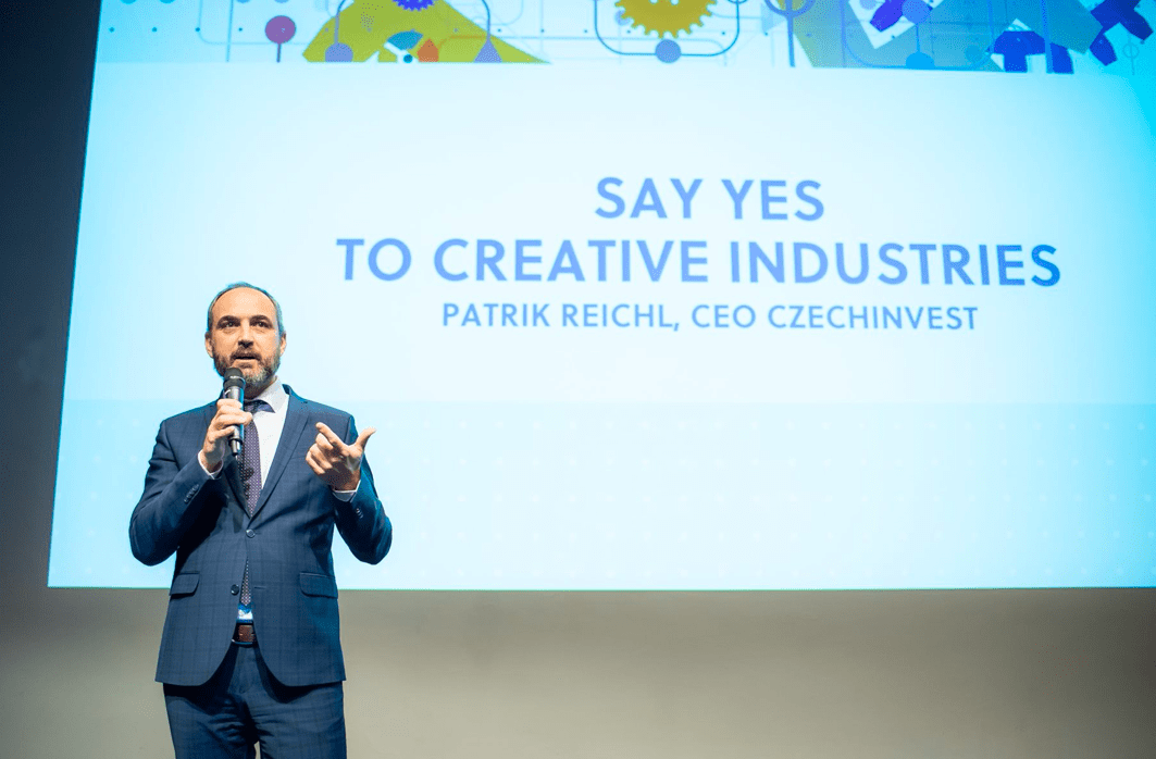 Konferenci Creatinno: Say Yes to Creative Industries zahájil generální ředitel CzechInvestu Patrik Reichl